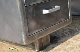 bureau m騁allique industriel bureau métallique strafor ées 50 mobilier industriel mobilier
