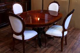 decorative dining room tables with leaves pedestal dining table
