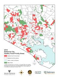 Map Of Baltimore Md Food Environment Maps Department Of Planning