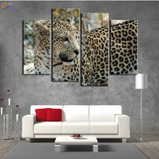 online get cheap leopard painting framed aliexpress com alibaba
