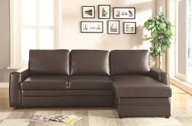 Sofa Sleeper Sheets by Coaster Gus Sectional Sofa With Tufts Storage And Pull Out Bed