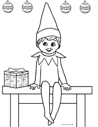 printable elf coloring pages free printable elf coloring pages for kids cool2bkids