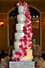a wedding cake our gorgeous 6 tier stunner of a wedding cake set up at the