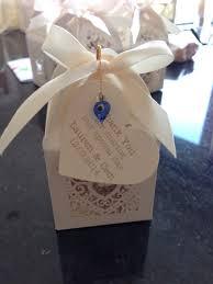 home made turkish english wedding favours containing turkish