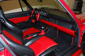custom porsche 944 unusual unique special order custom 993 interiors picture