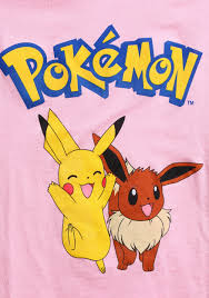 pikachu u0026 eevee girls t shirt from pokemon