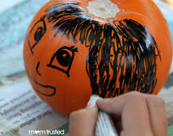 pumpkin decorating ideas with carving mom hack no carve pumpkin decorating ideas