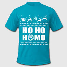 ho ho lgbt sweater t shirt spreadshirt