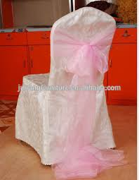 Ruffled Chair Covers Cheap Polyester Striped Ruffled Wedding Chair Cover Pattern Buy
