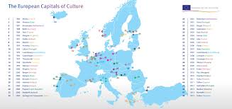 Europe Map With Capitals by European Capital Of Culture 2019 Events In Bulgaria