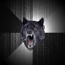 Wolf Meme Generator - insanity wolf blank meme template meme pinterest insanity