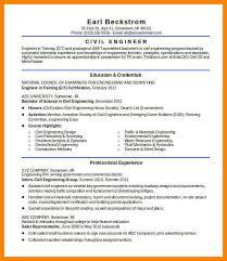 civil engineer resume 8 civil engineer resume letter adress