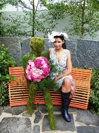 sculptural and striking garden seat u2013 tim austen garden designs