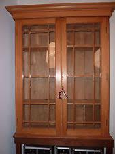 Pine Bookcase With Doors Pine Antique Bookcases 1800 1899 Ebay