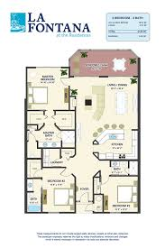 Bath Floor Plans Floor Plans For New Condos In St Augustine Fl La Fontana