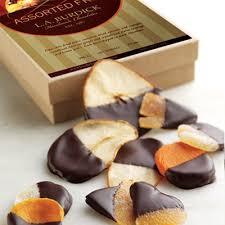 chocolate dipped fruit l a burdick handmade chocolates gourmet chocolates and