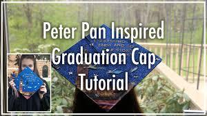 peter pan inspired graduation cap tutorial youtube