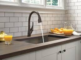 delta esque single handle pull down kitchen faucet u0026 reviews wayfair