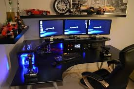 Awesome Gaming Desk Impressive Gaming Desk Setup Ideas Top 96 Kick Home Office