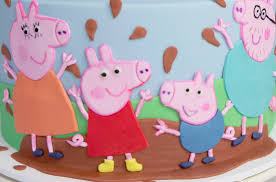 peppa pig birthday cakes peppa pig birthday cake for