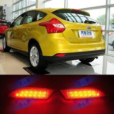 2014 ford focus tail light 2018 sedan and hatchback special led bar lights modified rear bumper
