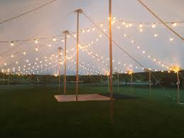 How To String Lights On Outdoor Tree Branches by 25 Cute Wedding Tent Lighting Ideas On Pinterest Outdoor