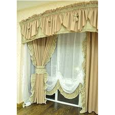 pink and lime green shabby chic curtains
