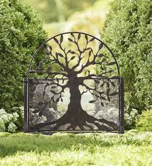 metal garden gate with tree of life design arbors 159 95