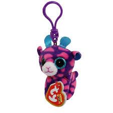 ty beanie boos sky giraffe glitter eyes plastic key
