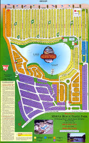 Barefoot Landing Map Rental Rates Myrtle Beach Travel Park