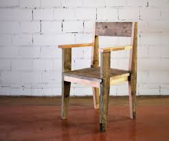 Reclaimed Wood Chairs Solid Reclaimed Wood Chair Wood Waste Woods And Decking