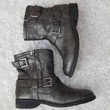 s boots buckle 62 guess shoes guess vegan combat boots buckle zip
