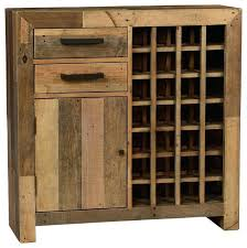 rustic sideboard with wine rack industrial rustic vintage liquor