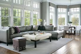 leather sofa with nailheads hardwood floors leather sofa family room transitional with