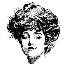 industrial revolution girls hairstyles 46 best inspiration gibson girls images on pinterest belle