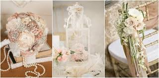 wedding ideas 35 vintage wedding ideas with pearl details tulle chantilly
