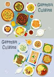 jeux de cuisine de poisson jeu d icônes de cuisine allemande ragoût de viande de légumes avec