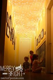 String Lights In Bedroom by 20 Ways To Decorate Your Home With Christmas Lights Decorating