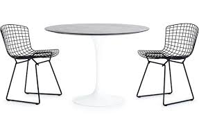 Outdoor Dining Chair Saarinen Outdoor Round Dining Table Hivemodern Com