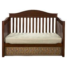 How To Change A Crib Into A Toddler Bed by Eddie Bauer Langley 3 In 1 Convertible Crib Target