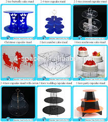 acrylic dessert rack food display trays 6 tier round acrylic