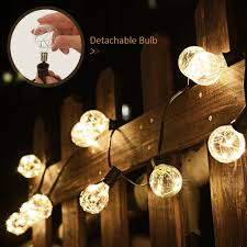 Outdoor Bulb Lights String by Aliexpress Com Buy G40 String Lights 25 Led Copper Wire Bulbs