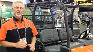 new kubota rtv x1140 quick review youtube