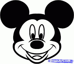 mickey mouse face coloring pages kids 1193 mickey mouse face