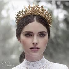 gold headpiece best 25 leaf crown ideas on flower crowns