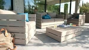 canapé en palette de bois canape exterieur palette canapac palette exterieur canape