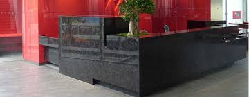 Granite Reception Desk Reception Desks Granite Ltd