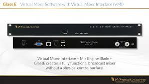 software glass e virtual mixer