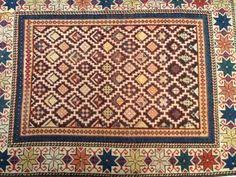 fine antique turkish oushak rug antique turkish oushak vegetable