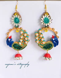 quilling earrings set 387 best quilling earing images on paper